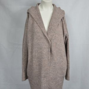 Mauve Zara Knit Cardigan